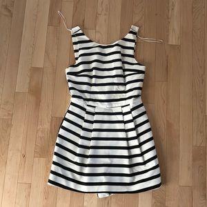 Zara Black and White striped jumper